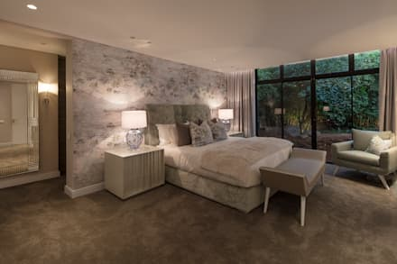 : modern Bedroom by Spegash Interiors