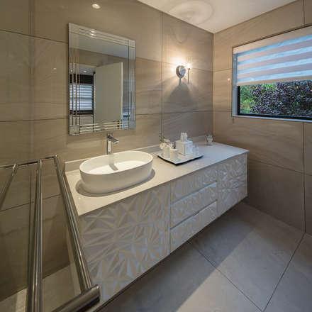 : modern Bathroom by Spegash Interiors