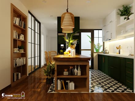 Comedores de estilo  por Green Interior