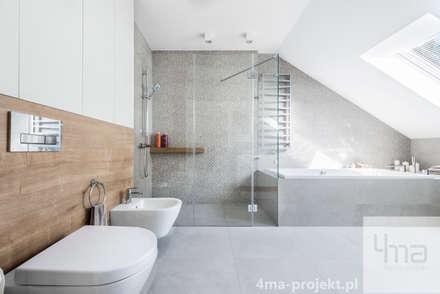 Projekt domu o pow. 148 m2.: styl , w kategorii Łazienka zaprojektowany przez 4ma projekt