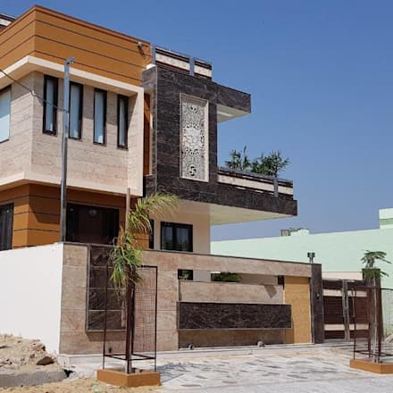 EXterior View: modern Houses by Arch Point