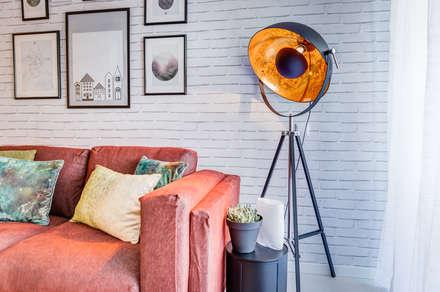 Querido Mudei a Casa - Ep 2607: Salas de estar industriais por Santiago | Interior Design Studio