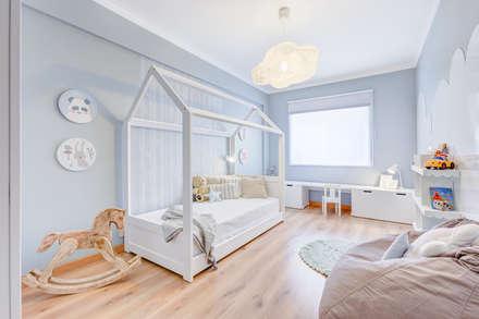 غرفة نوم أولاد تنفيذ Santiago | Interior Design Studio