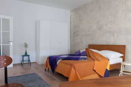 FRANK + KARL: industriale Schlafzimmer von VINTAGENCY