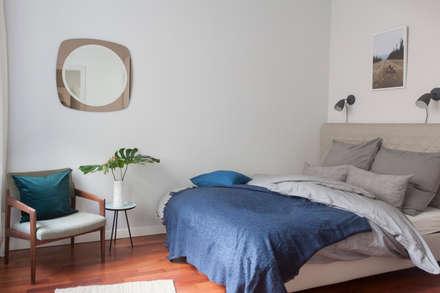 LIVE & BREATHE: ausgefallene Schlafzimmer von VINTAGENCY