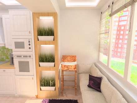 Кухня: Кухонные блоки в . Автор – Гузалия Шамсутдинова | KUB STUDIO