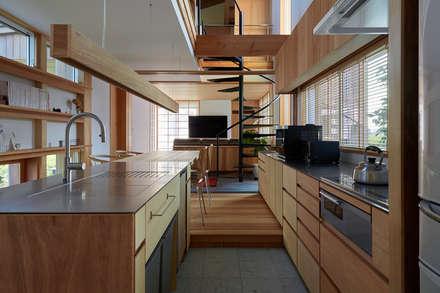 系統廚具 by ARTBOX建築工房一級建築士事務所