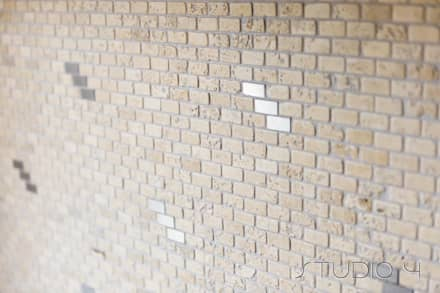 Mosaici standard: Bagno in stile In stile Country di Studio 4 Srl