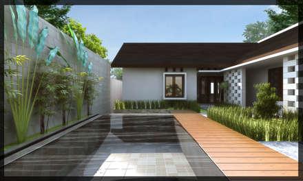 Rumah Bpk. Fajar:  Rumah by SUKAM STUDIO