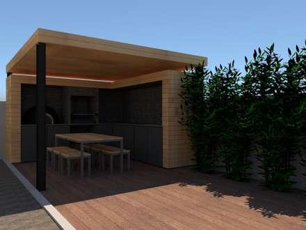 modern Garden by Edgart