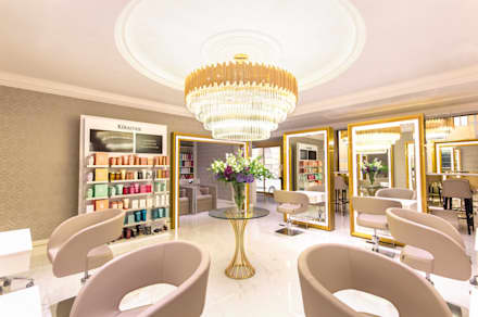 House of Evelyn Beauty Salon: modern Spa by Design by UBER