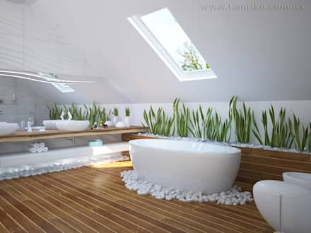 Minimalist Interior Design: minimalistic Bathroom by Tamriko Interior Design Studio