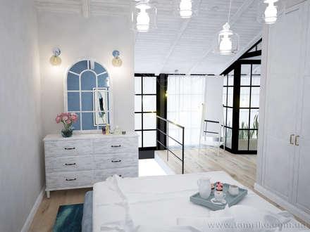 Loft Interior Design: industrial Bedroom by Tamriko Interior Design Studio