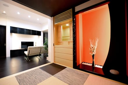 modern Media room by Style Create   有限会社 秀林組