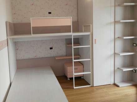 غرفة نوم مراهقين  تنفيذ Spaziojunior