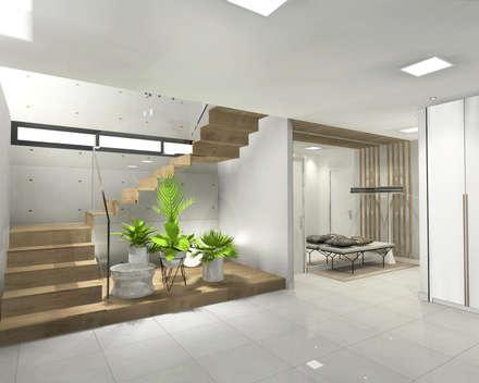 modern Garage/shed by CARMAN INTERIORISMO