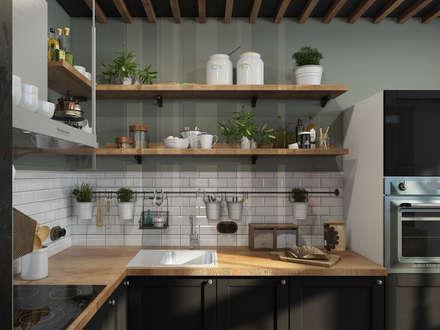 مطبخ تنفيذ Alyona Musina