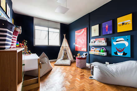 Boys Bedroom by Pereira Reade Interiores