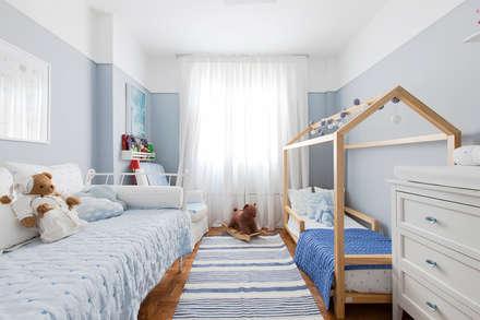 غرفة نوم أولاد تنفيذ Pereira Reade Interiores