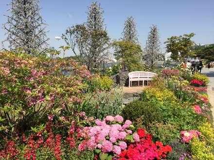 2017 고양꽃박람회 <골목길의 향수>: 아이디얼가든 (IDEALGARDEN)의  앞마당