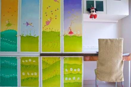 ห้องนอนเด็ก by Design Kkarma (India)