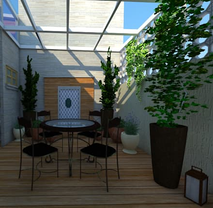 mediterranean Conservatory by Amaria Gonçalves - Design Paisagismo