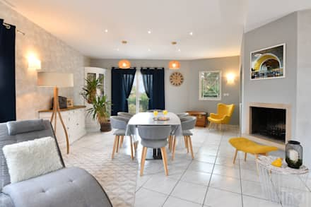 Photographie d'intérieure et d'ammeublement: Salle à manger de style de style Moderne par Thierry Allard photographe