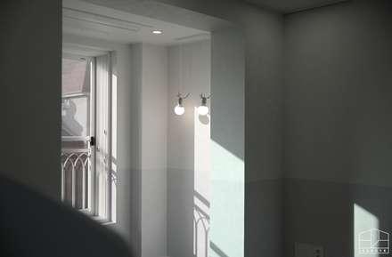 모던 빈티지 스타일의 따뜻한 집, 방배동 신호 나이스 38평: 홍예디자인의  아이방
