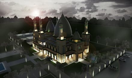 Besar Studio Arsitektur의  지붕