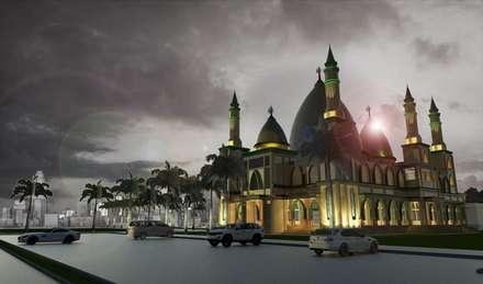 Masjid Raya Persatuan:  Rumah by Besar Studio Arsitektur