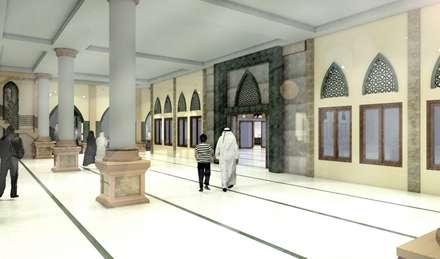 Masjid Raya Persatuan:  Teras by Studio BESAR