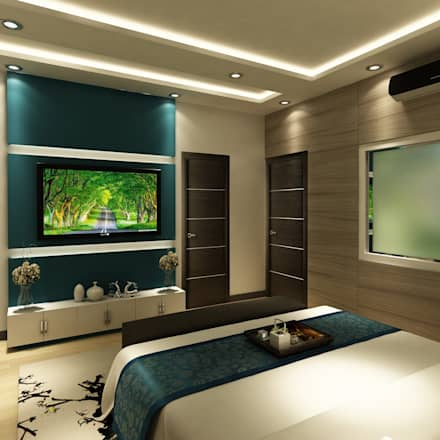 Residence project modern bedroom by the design code