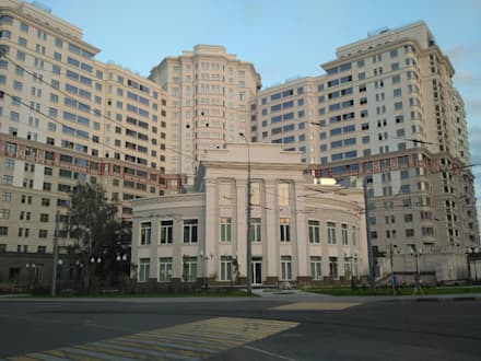 Донской Олимп: Многоквартирные дома в . Автор – Реставратор