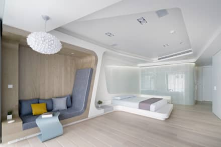 ROOM3:  臥室 by Nestho studio