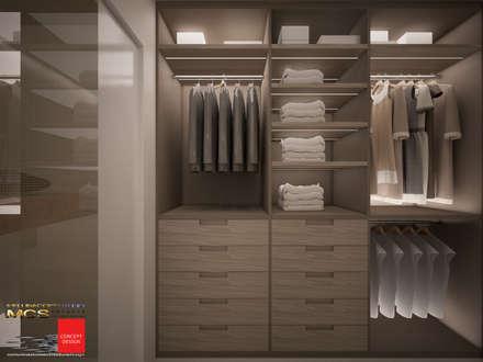Appartamento privato 4: Camera da letto in stile in stile Classico di MELLINACORTISTUDIO