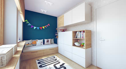 modern Nursery/kid's room by Double Look Design