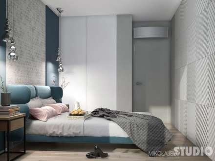 Phòng ngủ by MIKOŁAJSKAstudio