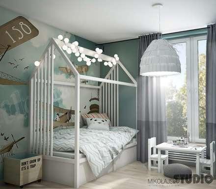 Baby room by MIKOŁAJSKAstudio