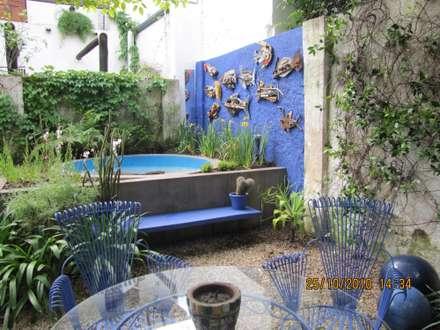 jardin Beccar- Bs As- Argentina: Jardines de estilo ecléctico por Ib - Paisajista