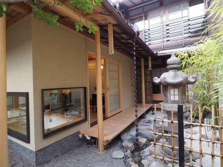 大宮の町家 雲・小宮(ゲストハウス): 一級建築士事務所 (有)BOFアーキテクツが手掛けたホテルです。