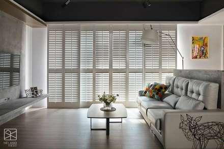Wooden windows by 禾廊室內設計