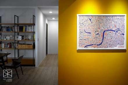 跳色:  牆面 by 禾廊室內設計