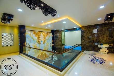 Goel's, Aanandam World City, Raipur:  Stairs by ES Designs