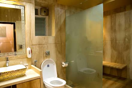 Ms. Suman, Chembur: modern Bathroom by Aesthetica