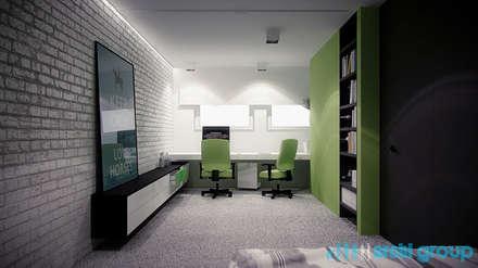 Habitaciones juveniles de estilo  por Archi group Adam Kuropatwa