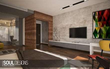 elegant & chic bedroom: modern Bedroom by Soul Designs