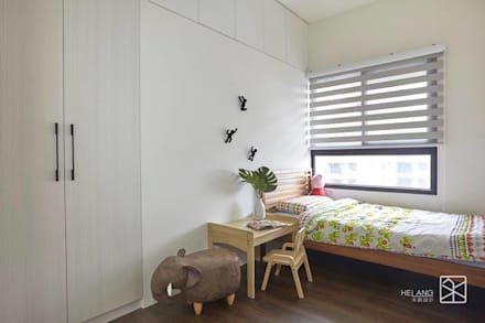 Dormitorios infantiles de estilo topical por 禾廊室內設計