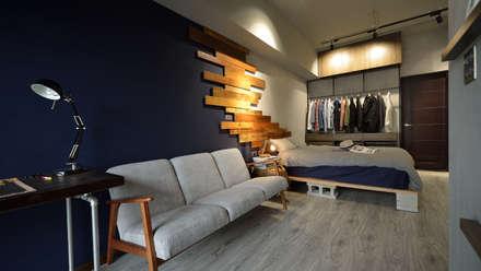 ห้องนั่งเล่น by 大觀創境空間設計事務所