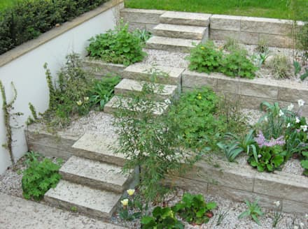 Stairs by guba + sgard Landschaftsarchitekten