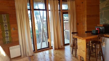 Kimche Lodge: Cocinas equipadas de estilo  por Kimche Arquitectos